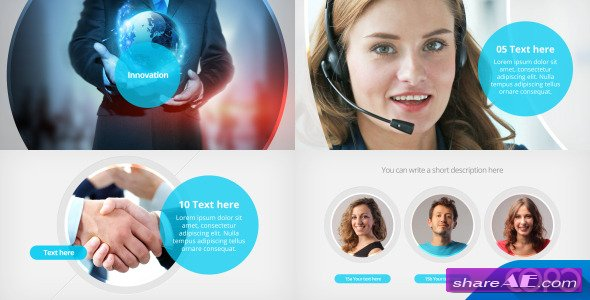 videohive corporate profile video » free after effects templates, Powerpoint templates