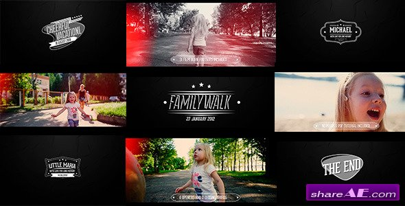Home Video Pack - After Effects Project (Videohive)