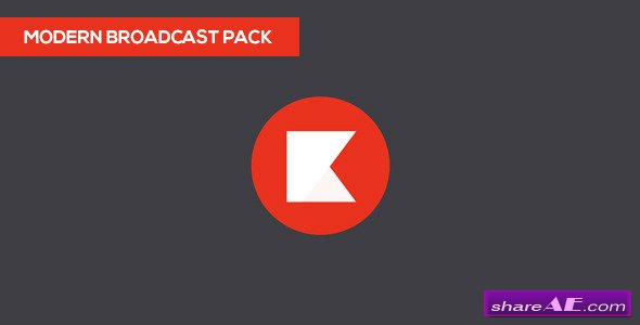 Modern Broadcast Pack - After Effects Project (Videohive)