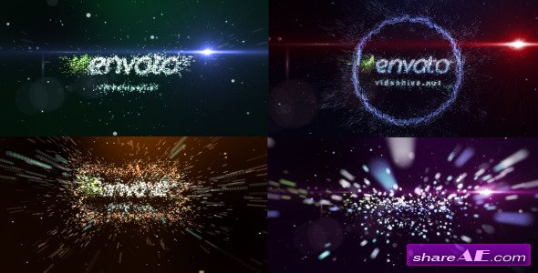 Transformation of particles - Project For After Effects (Videohive)