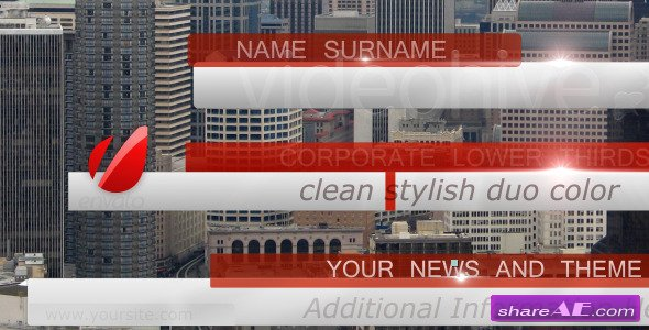 Bussines, News Lower Third Pack full HD - Project For After Effects (Videohive)