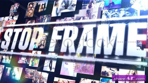 Stop Frame - SlideShow - After Effects Project (Revostock)