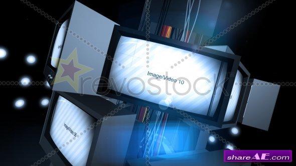 Retro TV Presentation - After Effects Project (Revostock)