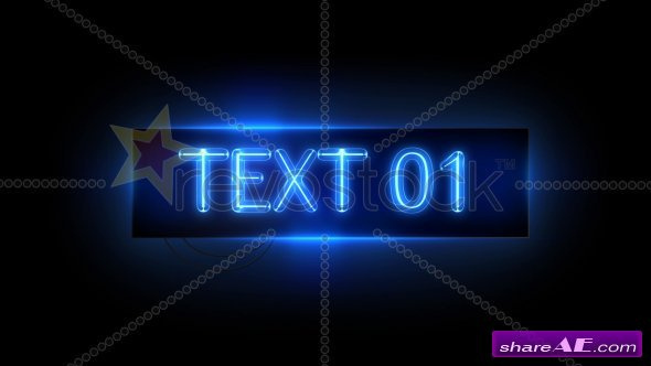 Neon Sign - After Effects Project (Revostock)