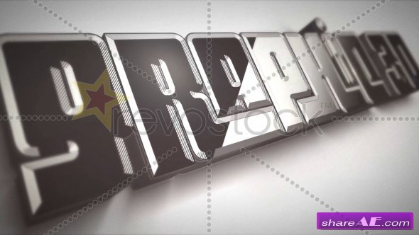 Graphic 3D Logo - After Effects Project (Revostock)