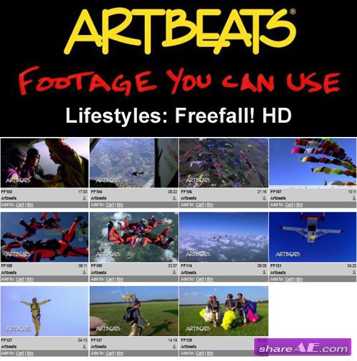 Artbeats - Lifestyles: Freefall! HD