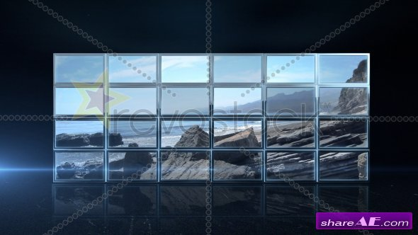Video wall - After Effects Project (Revostock)