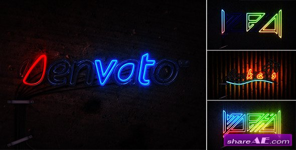 Videohive Neon Light - After Effects Project