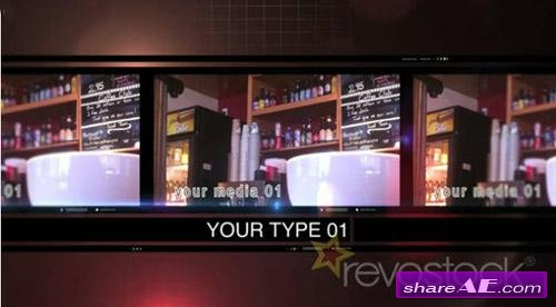 Clipstrip - After Effects Project (Revostock)