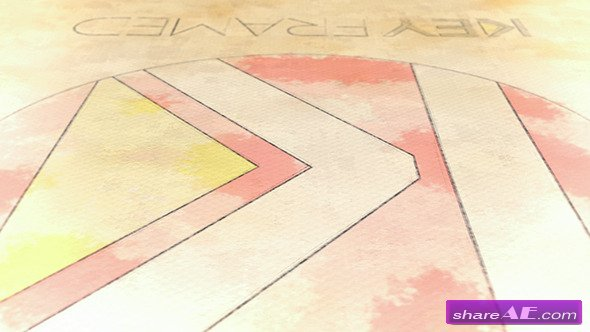 Canvas - Pencil and Watercolor Logo Reveal - After Effects Project (Videohive)