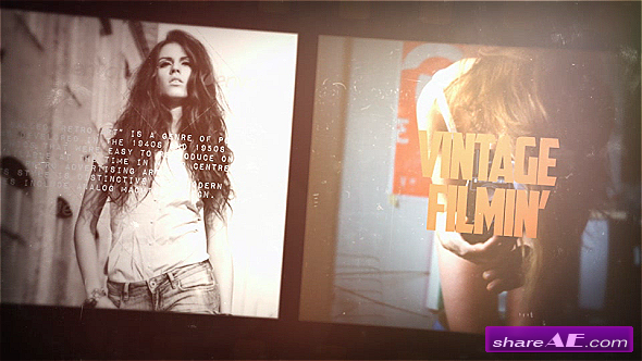 Vintage Film Slideshow - After Effects Project (Videohive)