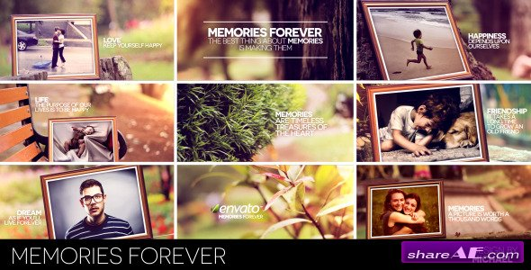 Memories Forever - After Effects Project (Videohive)