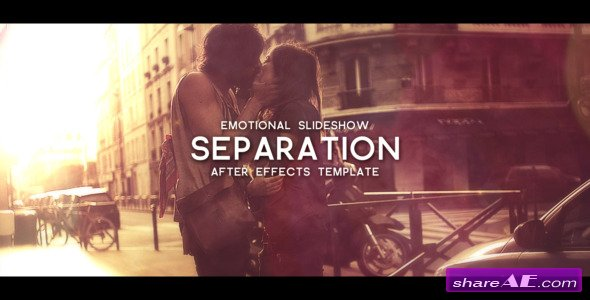 Separation After Effects Project Videohive