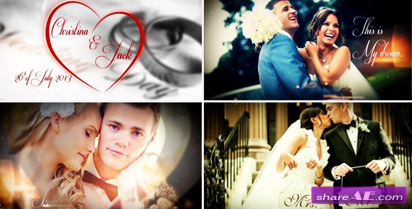Wedding Story Al After Effects Project Videohive