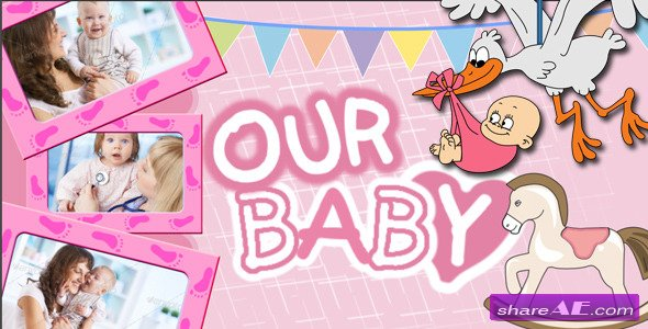 Baby Photo Al After Effects Project Videohive
