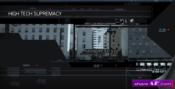 High Tech Supremacy - After Effects Project (Videohive)
