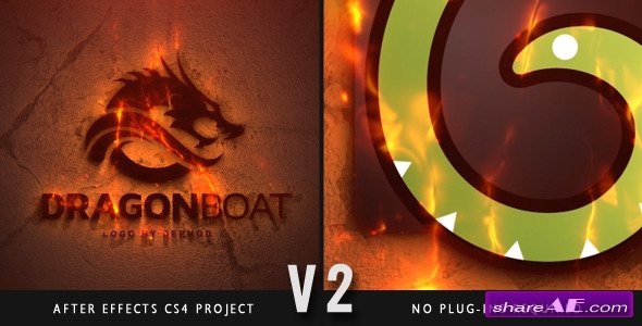 Epic Fire Logo - After Effects Project (Videohive)