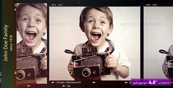 Memories 5706840 - After Effects Project (Videohive)