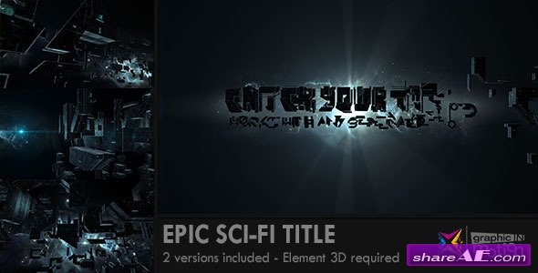 Epic Sci-Fi Title - After Effects Project (Videohive)