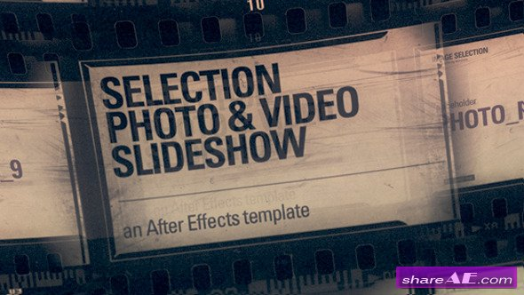 Selection Photo & Video (Slideshow) - After Effects Project (Videohive)
