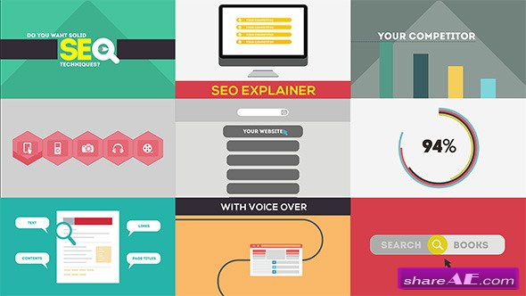 SEO Explainer Opener - After Effects Project (Videohive)