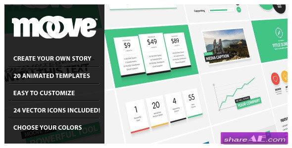 Moove - Corporate Video Tool - After Effects Project (Videohive)