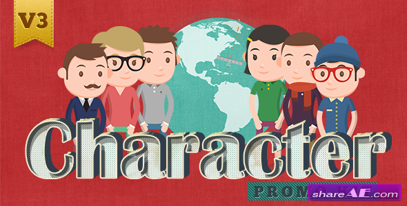 Character Promo Kit - After Effects Project (Videohive)