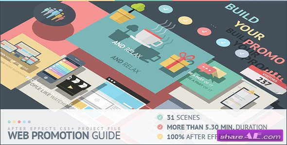Web Promotion Guide - After Effects Project (Videohive)