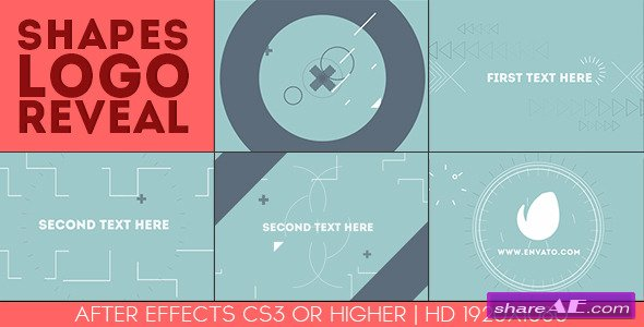 Shapes Logo Reveal - After Effects Project (Videohive)