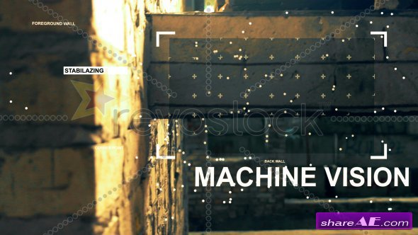 Machine Vision - After Effects Project (RevoStock)