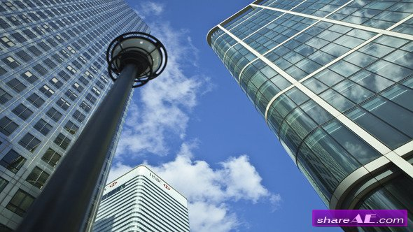 One Canada Square - Stock Footage (Videohive)