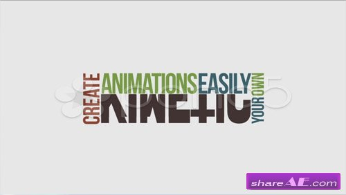 Kinetic Typography Pack - After Effects Project (Pond5)