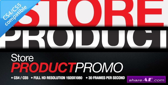 Store Product Promo - After Effects Project (Videohive)