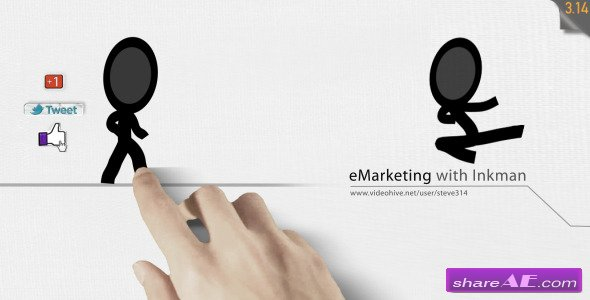E-Marketing with Inkman - After Effects Project (Videohive)