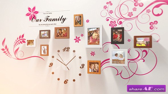 Photo Wall - After Effects Project (Videohive)