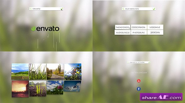Search Simple Promo - After Effects Project (Videohive)