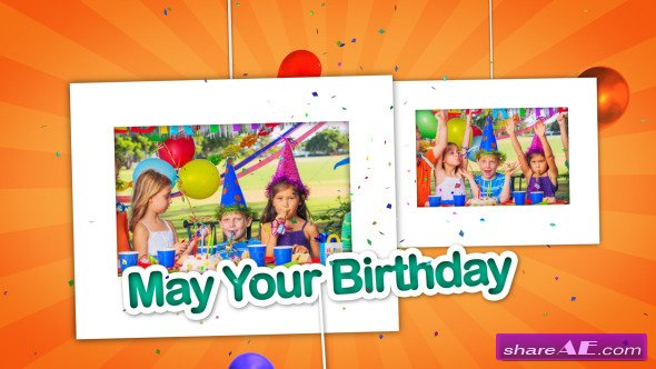 Happy Birthday - After Effects Project (Videohive) » Free After ...