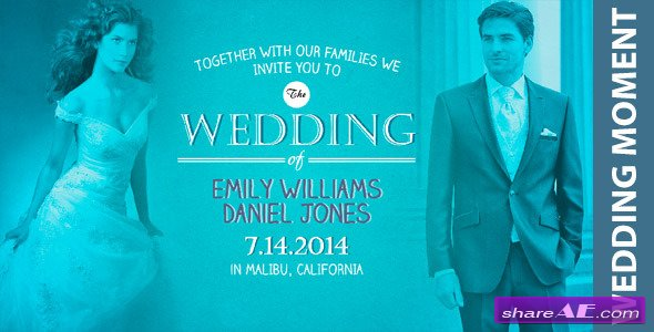 Wedding Moment! - After Effects Project (Videohive)