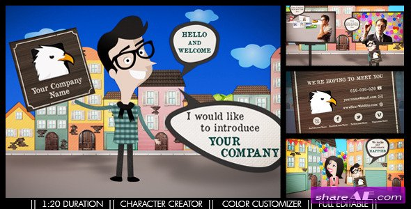 Happy Promotion - After Effects Project (Videohive)