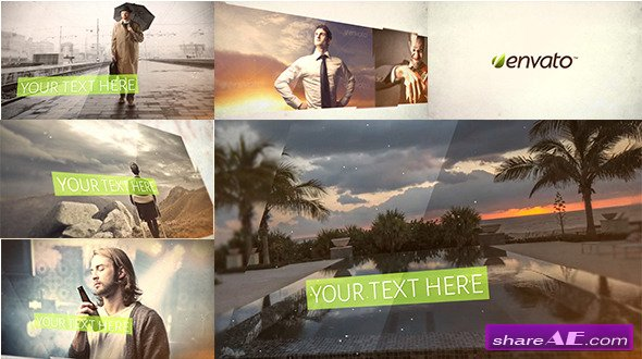Glass slideshow - After Effects Project (Videohive)