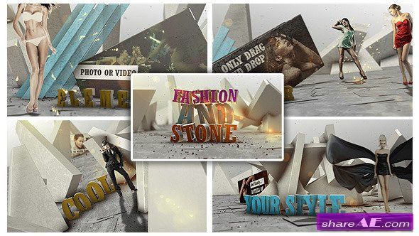 Fashion And Stone - After Effects Project (Videohive)