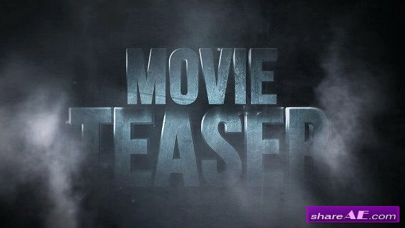Cinematic BlockBuster Titles - After Effects Project (Videohive)