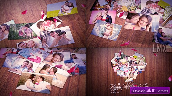 Heart Of The Photos - After Effects Project (Videohive)