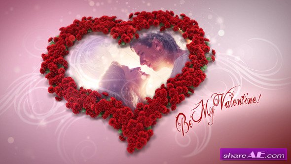 Heart Of Roses - After Effects Project (Videohive)