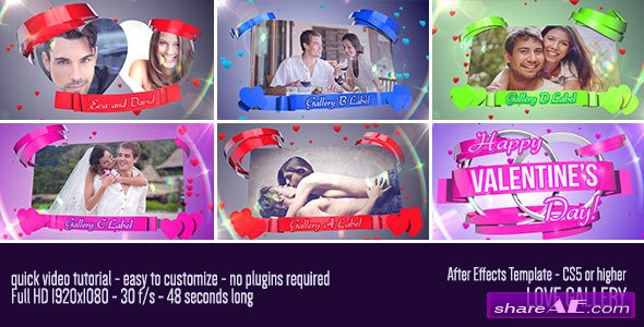 Love Gallery 6769608 - After Effects Project (Videohive)