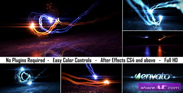 Logo Light Reveal 2 - After Effects Project (Videohive)