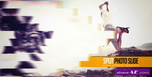 Split Photo Slide - After Effects Project (Videohive)