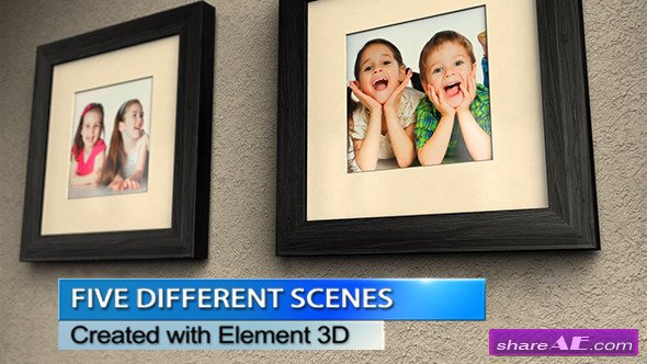 Photo Wall Gallery - After Effects Project (Videohive)