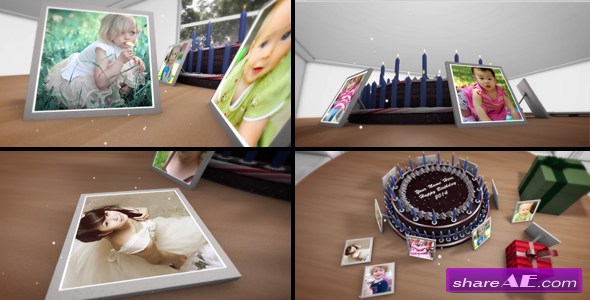 Happy Birthday Slideshow - After Effects Project (Motion Array ...
