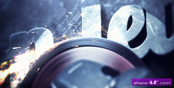 Iron Letters - After Effects Project (Videohive)